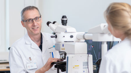 Prof. Dr. med. Rainer Grobholz Chefarzt Pathologie