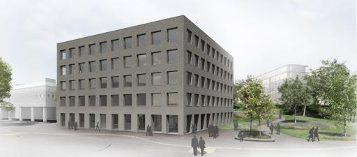 Bau Laborgebäude