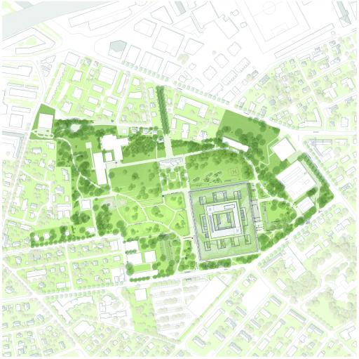 Neubau - Grünflächen